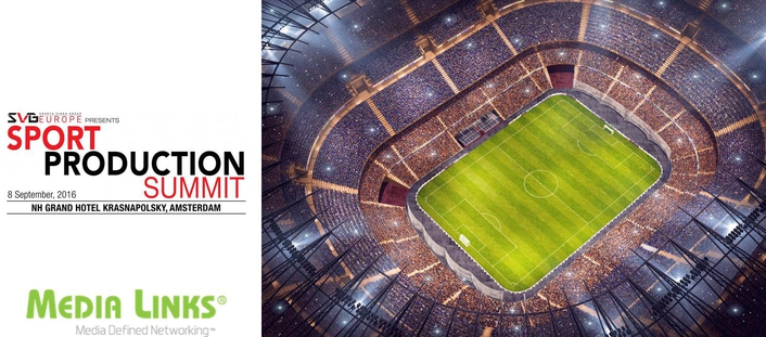 Media Links EMEA to Introduce IP Solutions at SVG Sports Production Summit