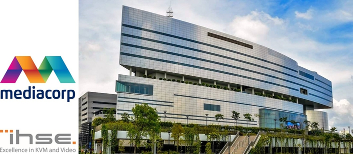 Mediacorp equips enormous new Media Center with IHSE KVM switching system