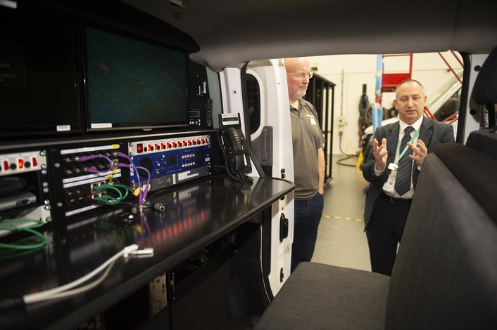 Greener mobile broadcasting underpins Megahertz electric vehicle open day