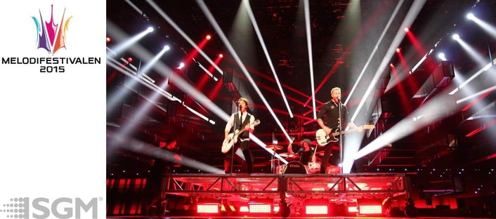 The popular Swedish music event ran over a six-week period with six live broadcasts from February to mid-March