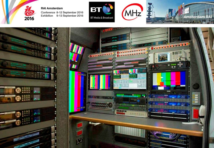 Megahertz to deliver Hybrid Fibre and Satellite UHD Links Truck to BT Media and Broadcast for IBC 2016