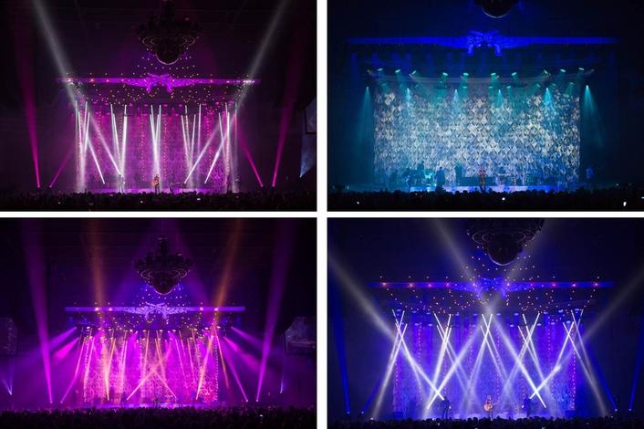 Clay Paky B-EYEs Light Up New Miranda Lambert Tour
