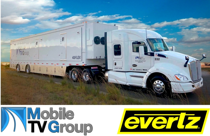 Mobile TV Group Deploys Production Truck with Evertz IP Infrastructure