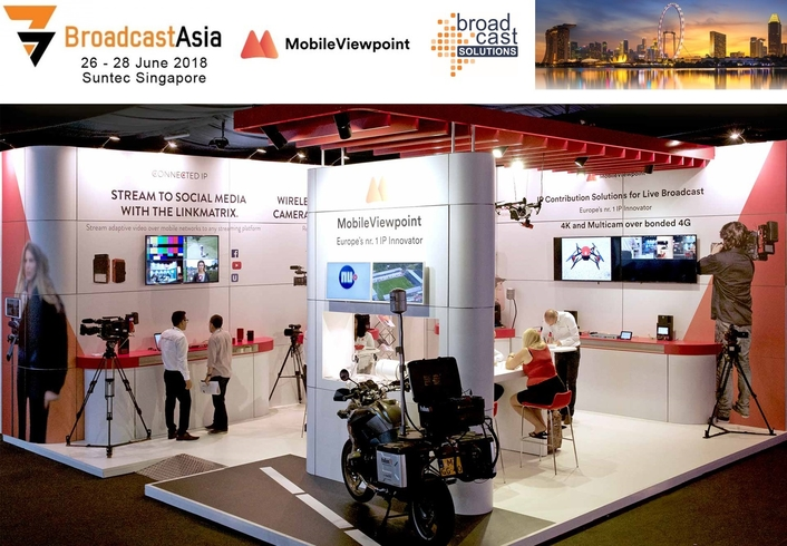 Broadcast Solutions Signs Distribution Agreement with Mobile Viewpoint for Asian Markets