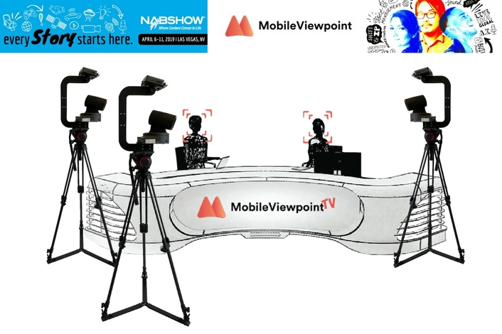 Mobile Viewpoint showcases new features for AI-driven live production tools at NAB2019