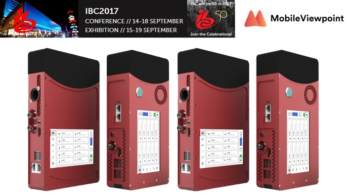 Mobile Viewpoint to demonstrate IP-based remote production capabilities at IBC 2017