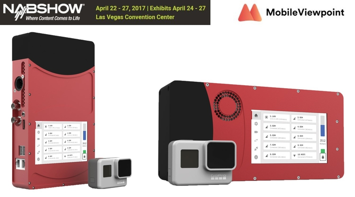 Mobile Viewpoint to take broadcasting to the next level with two new products at NAB2017