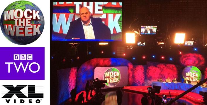 XL Video Screens for Mock The Week Series 14