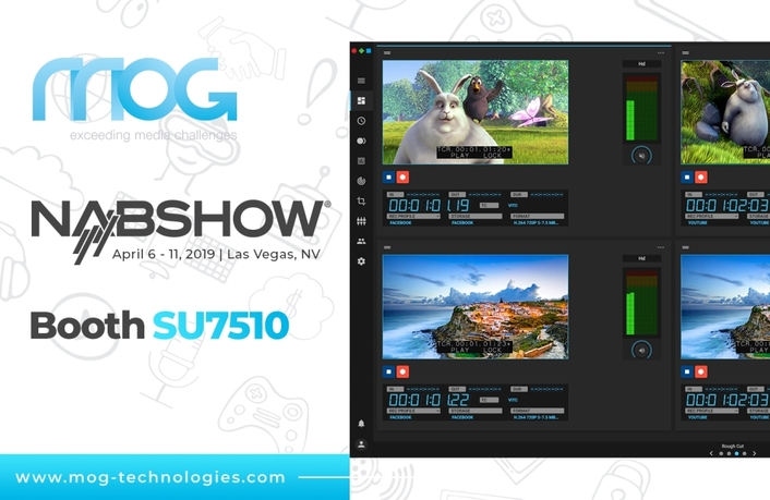 MOG Technologies highlights advances in file-based workflows at NABSHOW 2019