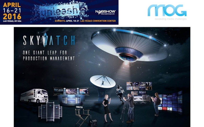 MOG presents its new production management platform at 2016 NAB Show