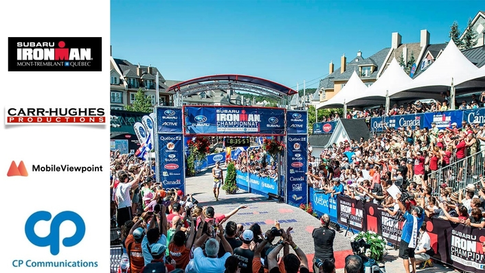 CP Communications Powers Triathlon Coverage with IP Streaming and Bonded Cellular Networking