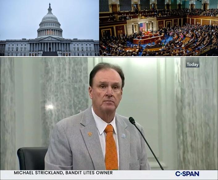 Michael T. Strickland Testifies Before Senate