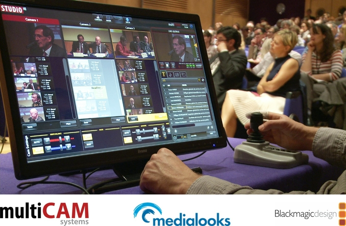 MultiCAM: world-class video switching solutions powered by Blackmagic Design