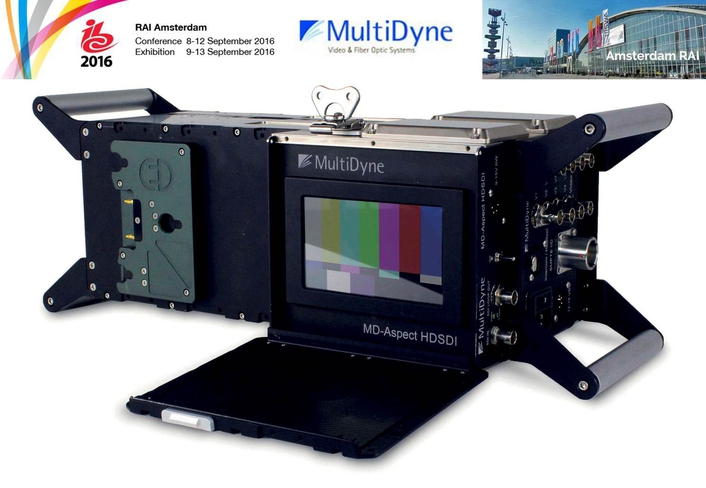 MultiDyne Accentuates High-Density, Configurable Fiber Transport at IBC2016