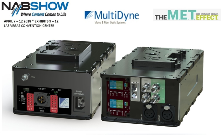 MultiDyne Unleashes Versatile New BullDog II Field Fiber System for  2018 NAB Show