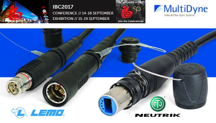 MultiDyne Approved to Assemble Neutrik and LEMO Tactical Cables Within New Fiber Lab