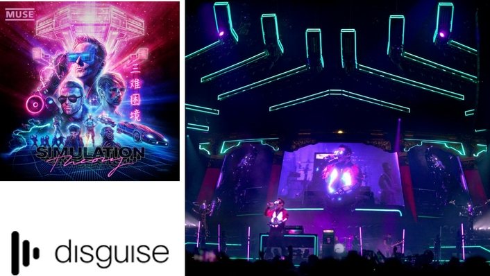 disguise drives video content for Muse's 'Simulation Theory' World Tour