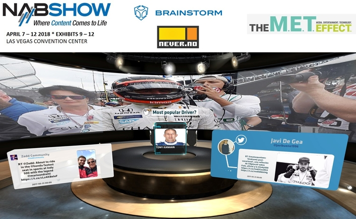 Brainstorm & never.no to release OnMedia at the NAB2018