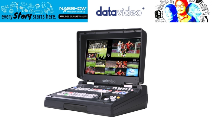 Complete workflow solutions from Datavideo at NAB 2019