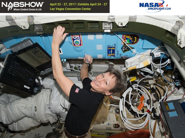 NASA to Stream First Live 4K Video From Space at the 2017 NAB Show