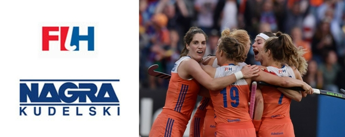 The International Hockey Federation (FIH) and NAGRA sign a ten-year partnership to deliver a game changing digital experience for fans
