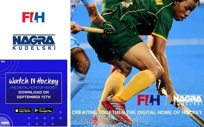 The International Hockey Federation (FIH) and NAGRA launch the Watch.Hockey app