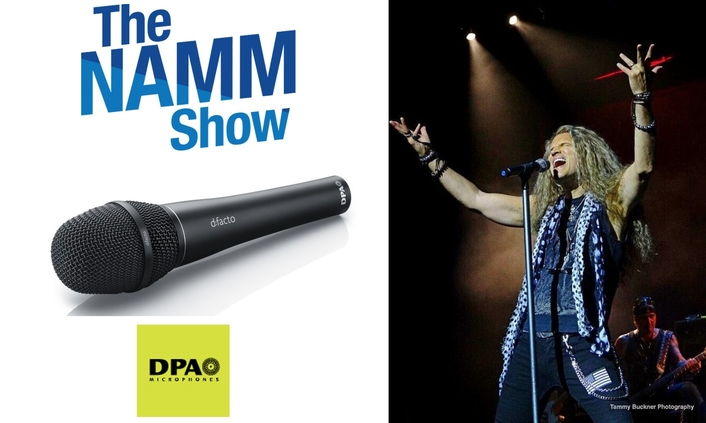 Rock and Roll, Nashville Americana, Funk & Classical Performances All Highlighted at DPA's 2019 NAMM Booth