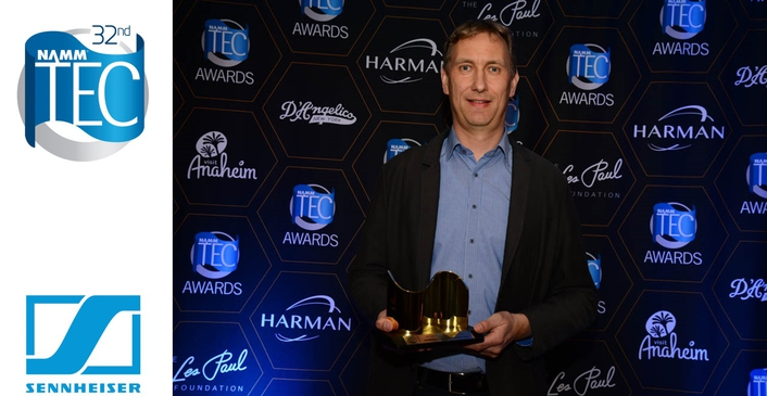 Sennheiser Wireless and Headphone Technology Recognized for Outstanding Technical Achievement at 32nd Annual NAMM TEC Awards