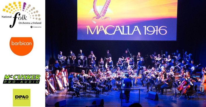 The National Folk Orchestra of Ireland Delight Their First London Audience With Help From DPA Microphones