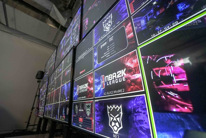 Atlanta-based experiential design studio MEPTIK emphasizes the power, flexibility and ease of use as central to the fan experience throughout NBA 2K's inaugural season