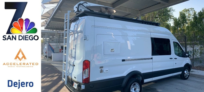 Dejero Transforms KNSD-TV and KUAN-LD's Mobile Broadcast Truck into Mobile TV Station