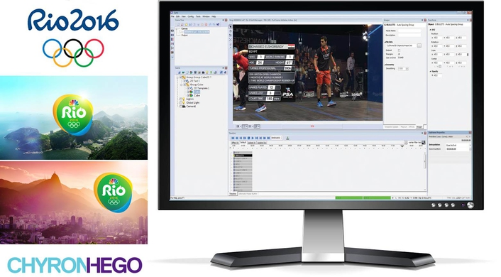 NBC Olympics Selects ChyronHego to Provide Graphics Creation for Its Production of 2016 Olympic Games in Rio