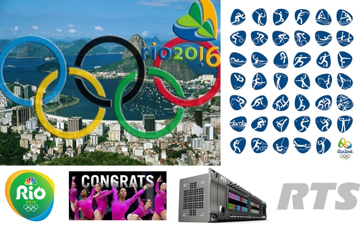 NBC Olympics selects RTS as its broadcast intercom provider for its production of 2016 Olympic Games in Rio