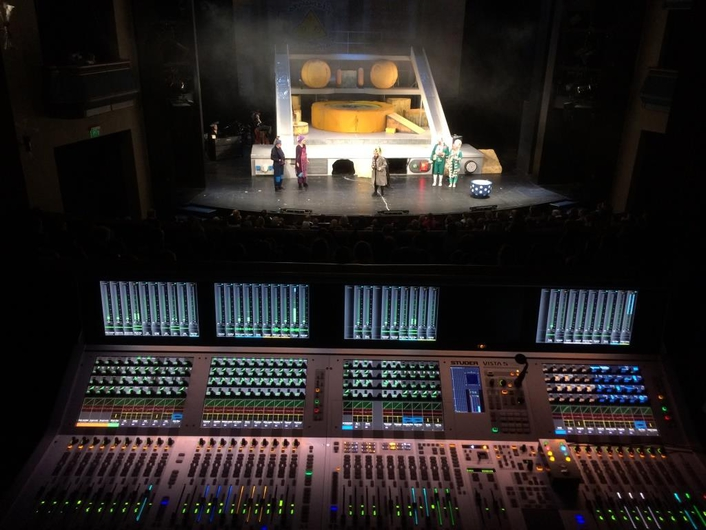 Long history of Studer's flexibility, reliability and support are key features for theatre's selection of Vista 5 M3 compact digital console