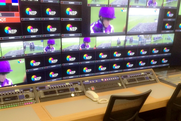 NEP Group takes RTS to the races with Equinox outside broadcast truck