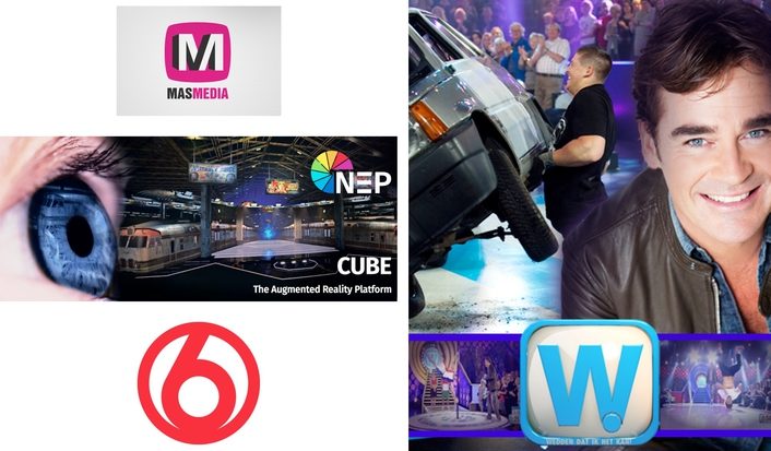 MasMedia: Dutch 'Wedden dat ik het kan' first major entertainment show produced with entirely virtual set