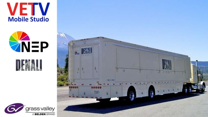 Grass Valley and NEP Deliver Mobile Studio Production Training Facility for Veterans-TV