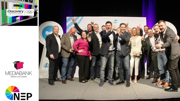 NEP GROUP'S MEDIABANK TEAM AND DISCOVERY WIN A 2018 IABM BaM AWARD™ FOR PROJECT COLLABORATION