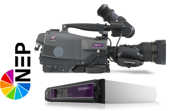 Grass Valley Solutions Underpin NEP Europe's Expanded IP Production Capability for a Summer of Sport