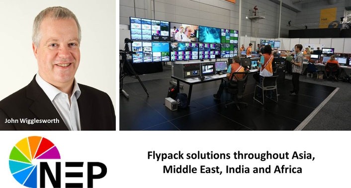 NEP Broadcast Solutions Appoints John Wigglesworth to General Manager