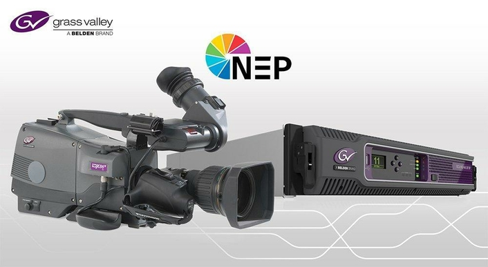 NEP Europe Strengthens its Market Position in 4K UHD and IP Live Production with 75 Grass Valley Cameras