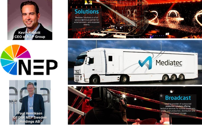 MEDIATEC BROADCAST GROUP BECOMES NEP