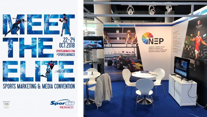 NEP Brings Latest Broadcast, Live Event and Media Solutions to SPORTEL Monaco