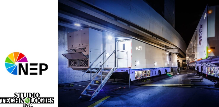 NEP Group taps dante-ENABlED studio technologies equipment for latest MOBILE UNIT