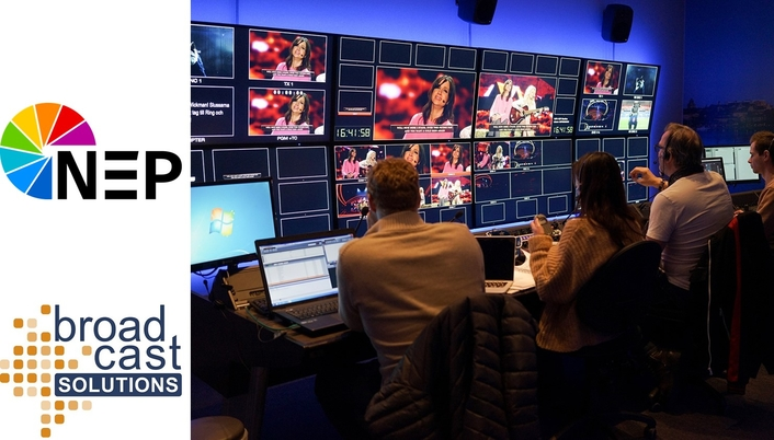 Broadcast Solutions Builds New HD/UHD Control Facilities for NEP Sweden