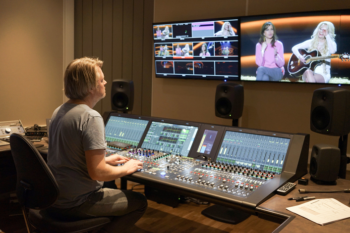 With New Control Rooms NEP Sweden Goes for Permanent Install at Country's Largest TV-Studios