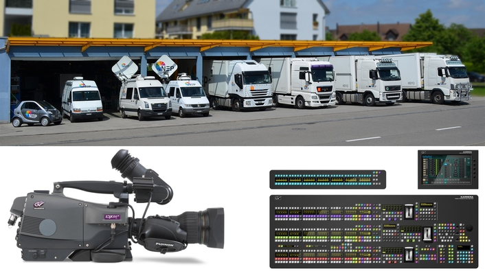 NEP Switzerland Takes on 4K/UHD Production with New Trucks and Facilities Featuring Integrated Grass Valley Solutions