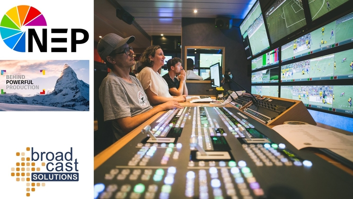 NEP Switzerland adds UHD 42 OB Van to its fleet of 4K/UHD production vehicles – conceived by Broadcast Solutions