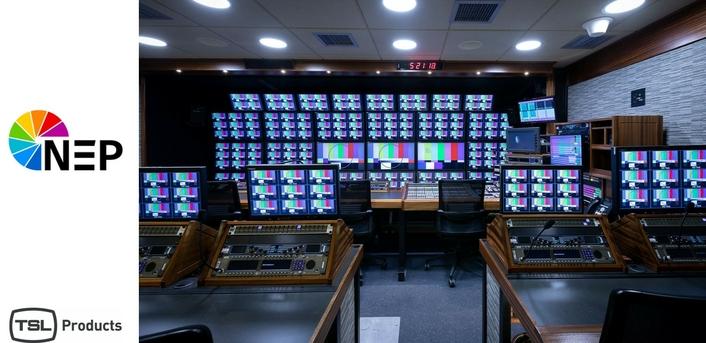 NEP Group Uses TSL Products' MPA1-MIX MADI-V Audio Monitoring Units in New OB Trucks