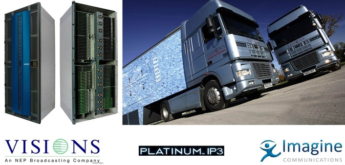 Imagine Communications Provides Route to UHD for New NEP Fleet